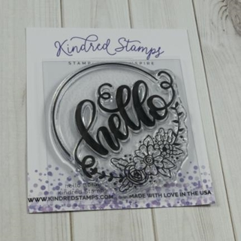 Kindred Stamps HELLO FLORAL Clear Stamps 77222716