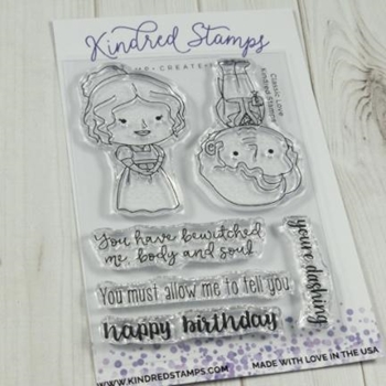 Kindred Stamps CLASSIC LOVE Clear Stamps 92984124