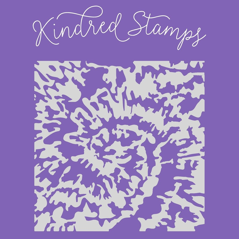 Kindred Stamps TIE DYE Stencil 50874172 zoom image
