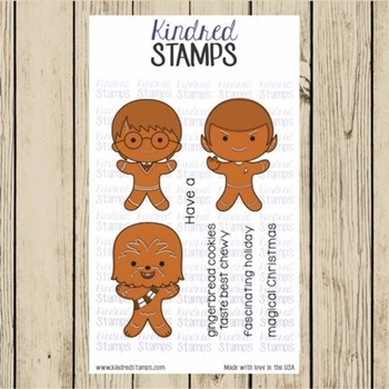 Kindred Stamps NATIONAL GINGERBREAD COOKIE DAY Clear Stamps 62062364