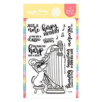Waffle Flower HARPY BIRTHDAY Clear Stamps 271294