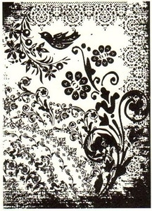 Tim Holtz Rubber Stamp TATTOO YOU P4-1405 *