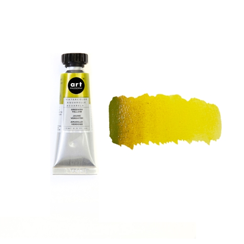 Prima Marketing GREENISH YELLOW Art Philosophy Watercolor Tube 643539 Preview Image