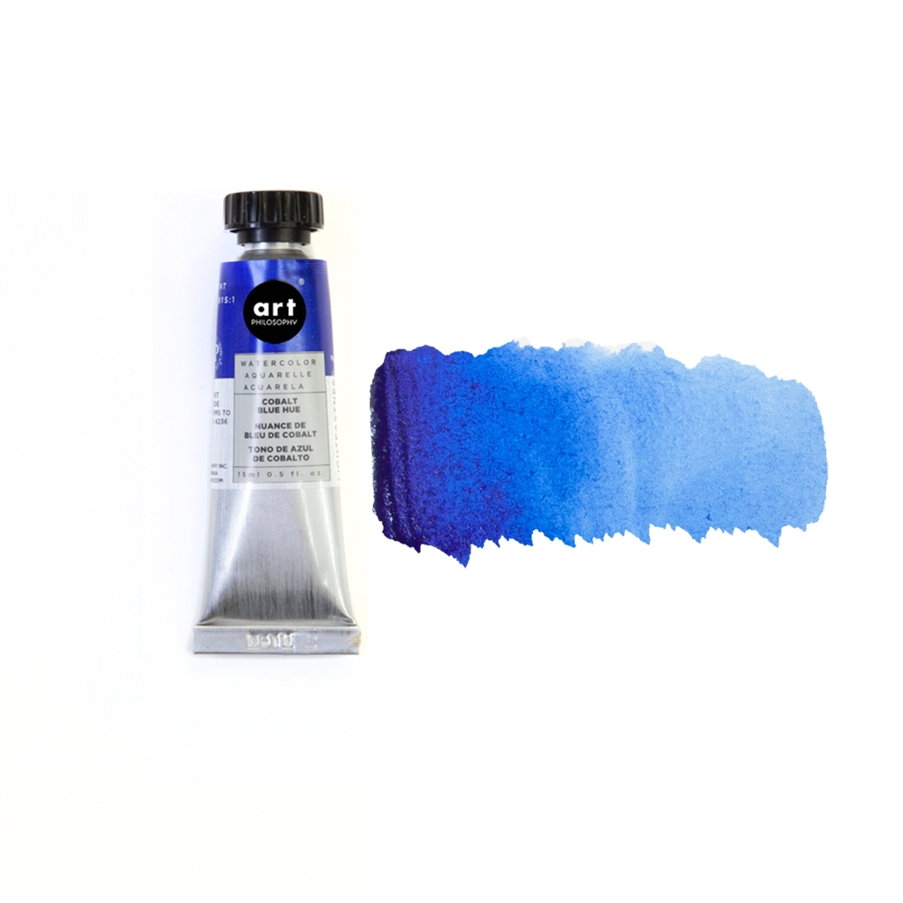 Prima Marketing COBALT BLUE HUE Art Philosophy Watercolor Tube 643577 zoom image