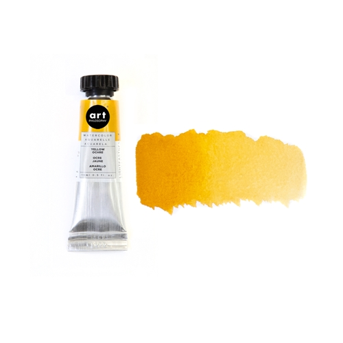 Prima Marketing PERMANENT YELLOW DEEP Art Philosophy Watercolor Tube 643454 Preview Image