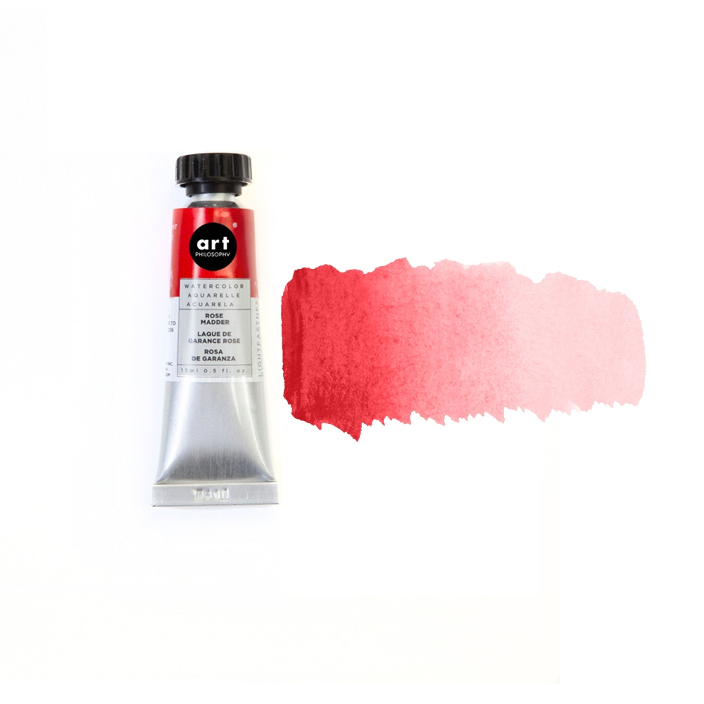 Prima Marketing ROSE MADDER Art Philosophy Watercolor Tube 643485 zoom image