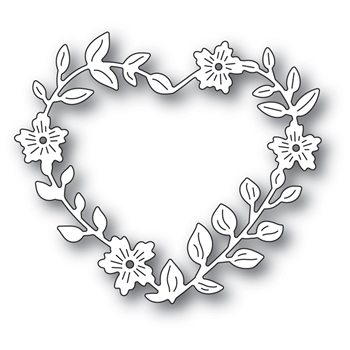 Memory Box BLOOMING HEART WREATH Craft Die 94371