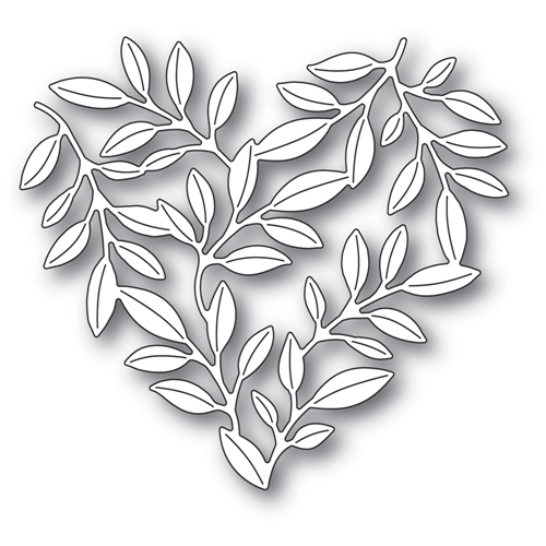 Memory Box LEAFY HEART Craft Die 94377 Preview Image