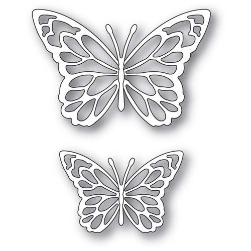 Memory Box GLORIOSA BUTTERFLY DUO OUTLINES Craft Dies 94383 Preview Image