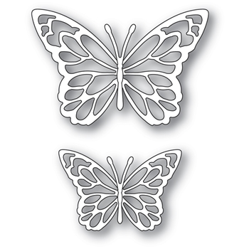 Memory Box GLORIOSA BUTTERFLY DUO OUTLINES Craft Dies 94383