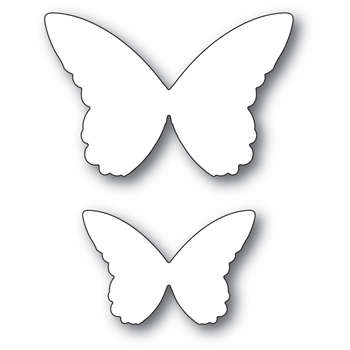 Memory Box GLORIOSA BUTTERFLY DUO BACKGROUND Craft Dies 94387