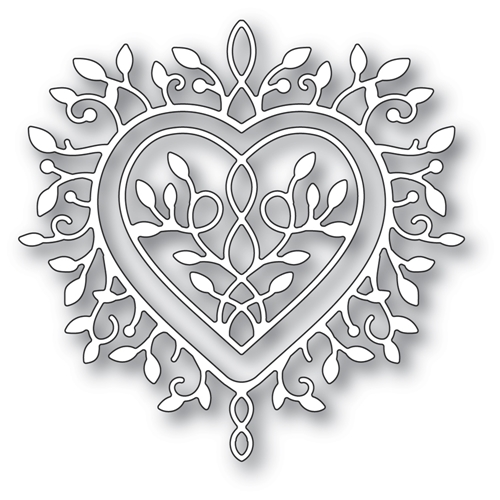 Memory Box CHAMPAGNE HEART Craft Dies 94389 Preview Image