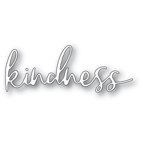 Memory Box KINDNESS CURSIVE SCRIPT Craft Die 94391 Preview Image