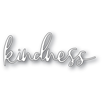 Memory Box KINDNESS CURSIVE SCRIPT Craft Die 94391