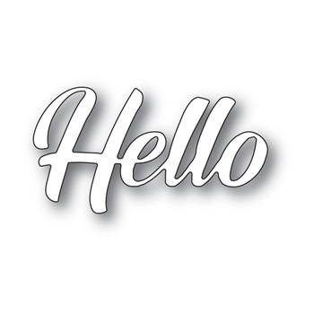 Memory Box HELLO BANNER SCRIPT Craft Die 94392