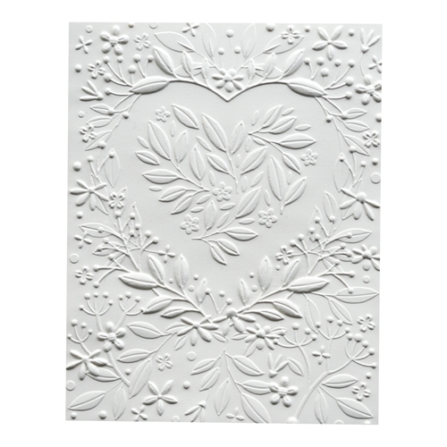 Memory Box HEART BOUQUET 3D Embossing Folder ef1006 Preview Image