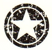 Tim Holtz Rubber Stamp CIRCLE STAR Stampers Anonymous D3-1406