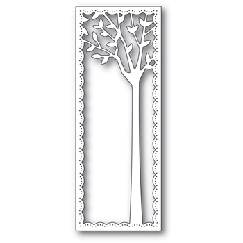 Poppy Stamps SOARING TREE FRAME Craft Die 2289