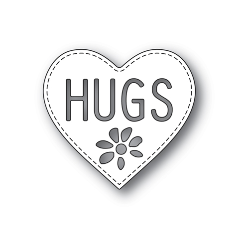 Poppy Stamps HUGS HEART Craft Die 2299 Preview Image