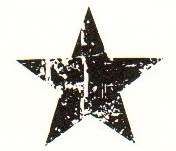 Tim Holtz Rubber Stamp SCRATCHED STAR Stampers Anonymous D3-1407 zoom image