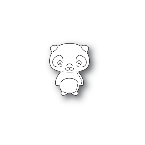 Poppy Stamps WHITTLE PANDA Craft Die 2306 Preview Image