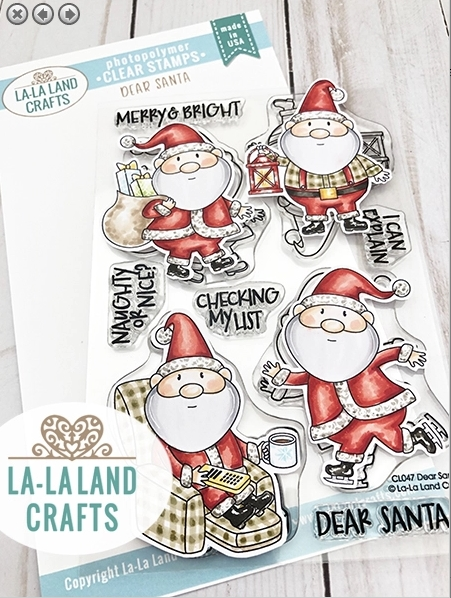 La-La Land Crafts Clear Stamps DEAR SANTA CL047 zoom image