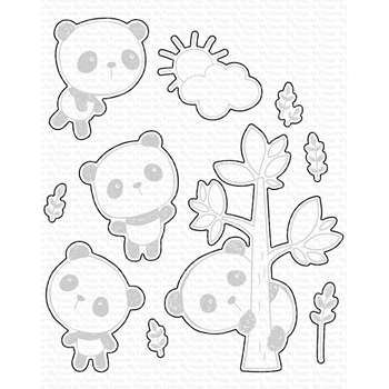 My Favorite Things PANDA PALS DIe-Namics MFT1669