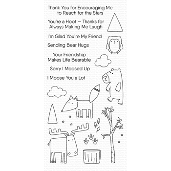 My Favorite Things BEAR HUG BUNCH Clear Stamps CS439