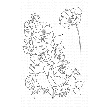 My Favorite Things ROSE GARDEN Clear Stamps CS445