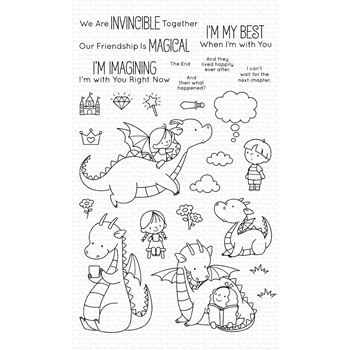 My Favorite Things MAGICAL FRIENDS Clear Stamps BB92