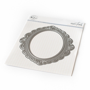 Pinkfresh Studio ORNATE OVAL FRAME Essentials Die pf023es