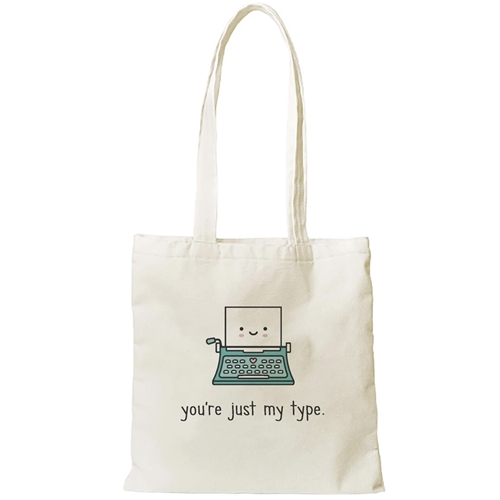 Lawn Fawn JUST MY TYPE TOTE Bag LF2190 Preview Image