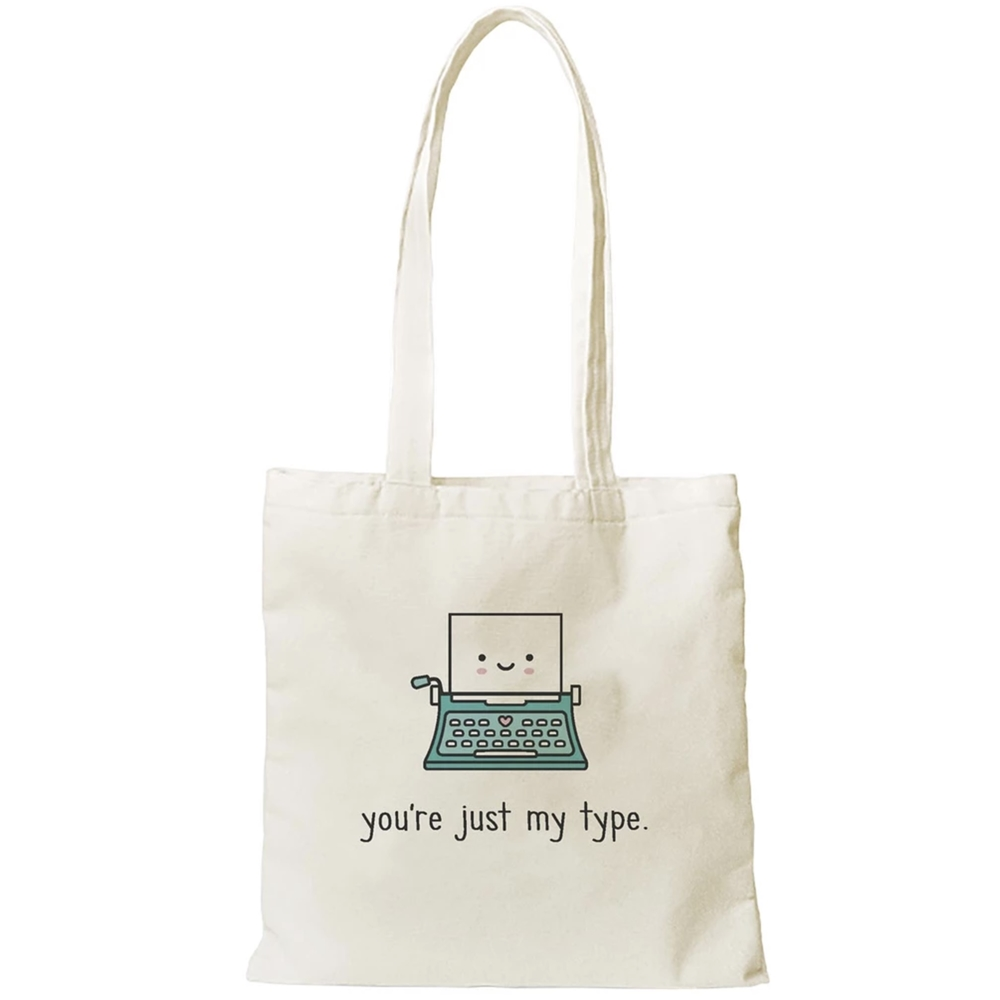 Lawn Fawn JUST MY TYPE TOTE Bag LF2190 zoom image