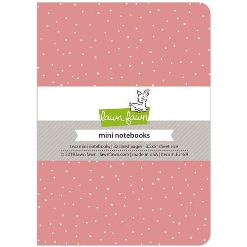 Lawn Fawn PERFECTLY PINK Mini Notebooks LF2189 Preview Image