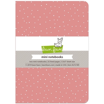 Lawn Fawn PERFECTLY PINK Mini Notebooks LF2189