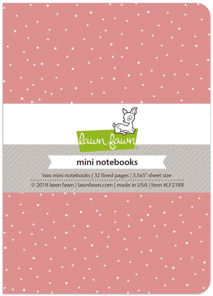 Lawn Fawn PERFECTLY PINK Mini Notebooks LF2189 zoom image