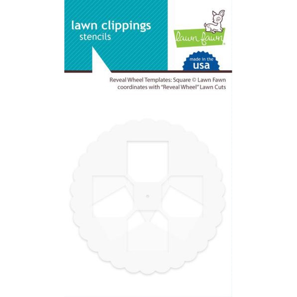 Lawn Fawn SQUARE Reveal Wheel Templates LF2172 zoom image