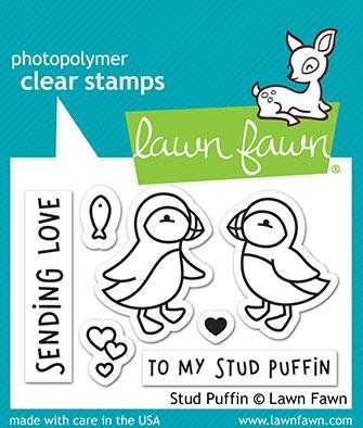 Lawn Fawn STUD PUFFIN Clear Stamps LF2169 zoom image