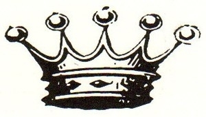 Tim Holtz Rubber Stamp ROYALTY Crown Stampers Anonymous E2-1415 zoom image