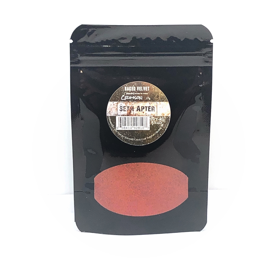Emerald Creek CRIMSON Baked Velvet Embossing Powder bdvc* zoom image