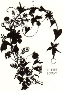 Tim Holtz Rubber Stamp BOTANY Stampers Anonymous V1-1419
