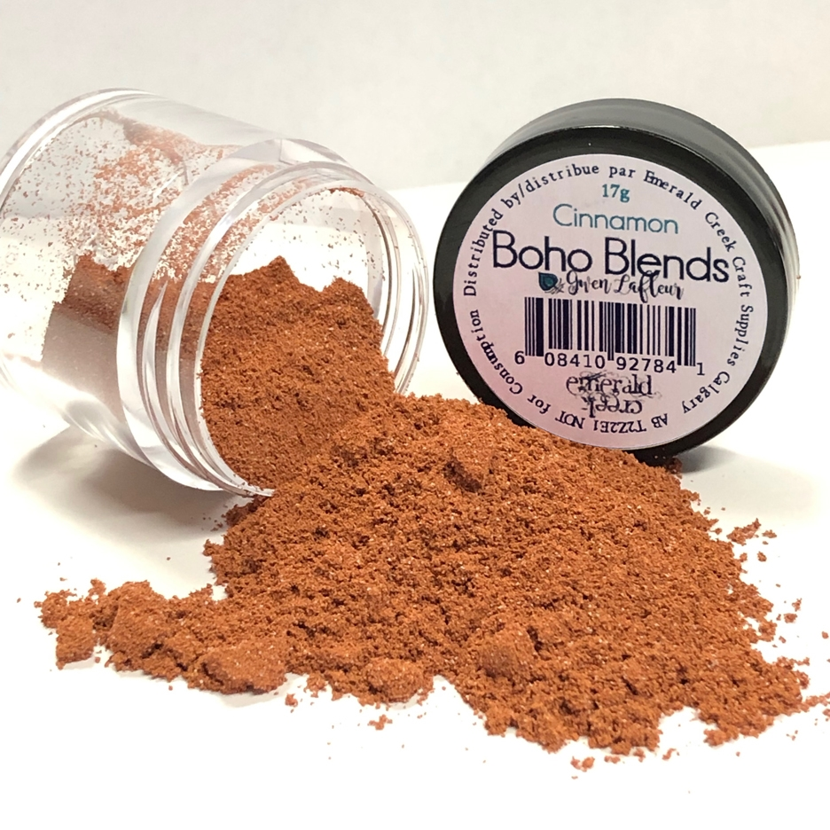 Emerald Creek CINNAMON Boho Blends Embossing Powder bblc zoom image