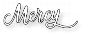 Papertrey Ink INSPIRED MERCY Die PTD-1165