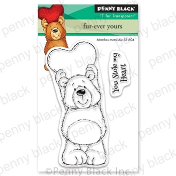 Penny Black Clear Stamps FUR-EVER YOURS 30-652*