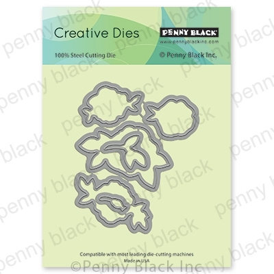 Penny Black TENDERNESS CUT OUT Thin Metal Creative Dies 51-601 Preview Image