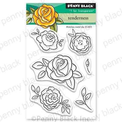 Penny Black Clear Stamps TENDERNESS 30-655 zoom image