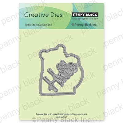 Penny Black SNUGGLES CUT OUT Thin Metal Creative Dies 51-600 Preview Image