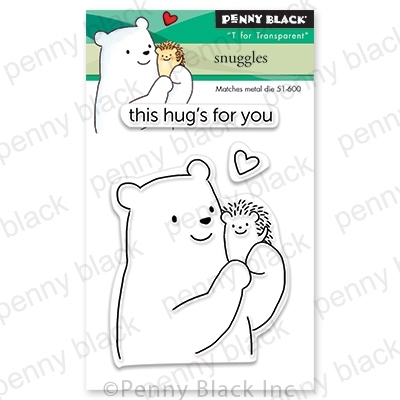 Penny Black Snuggles Clear Stamp Set