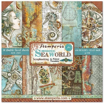 Stamperia SEA WORLD 12x12 Paper sbbl64