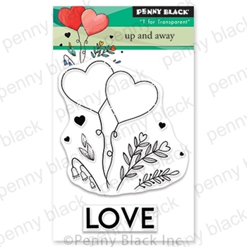 Penny Black Clear Stamps UP AND AWAY 30-653